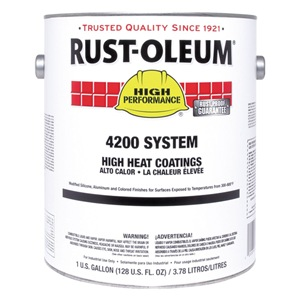 Rust-Oleum Heat ResistantBlack, 1gal at Sears.com