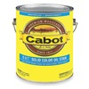 Cabot 140.0006512.007 Solid Oil Stain, Ultra White, Flat, 1gal