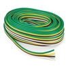 Reese 8520542 Bonded Trailer Wire, 16 Gauge, L 300 In.