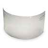 MSA 488127 Faceshield Visor, Acetate, Clear, 6x17
