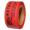 Novavision Inc PST2R-61A-180 Tamper Evident, Tape, 2in.x180ft, Red