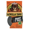 Gorilla Tape 6100101 Duct Tape, 1 In. x 30 Ft., Black