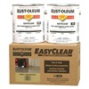 Rust-Oleum 256673 Floor Coating, 1 gal, Clear, Epoxy, Hi-Gloss