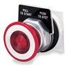 Square D 9001KR9P1R Pushbutton, Illuminated, 30mm