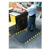 Andersen 04240020035100 Anti-Fatigue Mat, 33x58In, 7/8In, Blk/Yllw