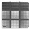 Notrax 660S0033BL AntiFatigue Mat, AntiStatic, 3x3 Ft, Black