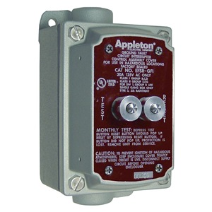 Appleton Electric EFS150-GFI