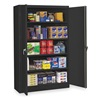 Tennsco J1878SUBK Storage Cabinet, Welded, Black