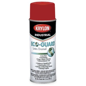 Krylon Spray Paint, OSHA Red, 12 oz.