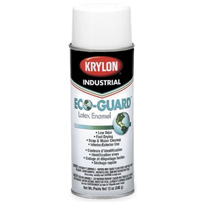 Krylon Spray Paint, Flat White, 12 oz.