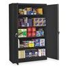 Tennsco J2478SUBK Storage Cabinet, Welded, Black