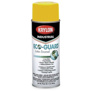 Krylon Spray Paint, OSHA Yellow, 12 oz.