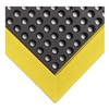 Wearwell 479.34X2X3BYL Mat, 2 x 3 Ft., Black/Yellow, Open Grid