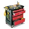 Rubbermaid FG773488BLA Trade Cart/Service Bench, 19-13/16 In. W