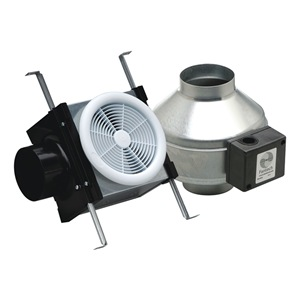 Fantech Exhaust Fan Kit, 8 In. L, Galvanized Steel at Sears.com