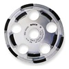 Bosch DC 510 Segment Cup Wheel, Diamond, Double, 5x7/8