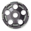 Bosch DC500 Segment Cup Wheel, Diamond, Double, 5x7/8