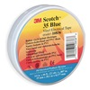 Scotch 35 3/4X66 BLUE Tape, Electrical, Blue