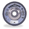Weiler 50545 Arbor Mount Flap Disc, 7in, 80, Medium