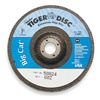 Weiler 50824 Arbor Mount Flap Disc, 7in, 60, Coarse