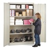 Lyon DD1031 Storage Cabinet, Gray