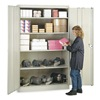 Lyon PP1031 Storage Cabinet, Putty