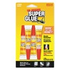 Super Glue SGH24J-48 Instant Adhesive, 2g Tube, Clr, Pk 4