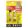 Super Glue T-QS48 Epoxy, 2 Part QuickSet, Ylw, 2-0.5 Oz Tubes