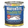 Zinsser 5021 Waterproofing Paint, 1 gal, Bright White