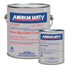 American Safety Technologies AS200K Anti-Slip Floor Coating, 1 gal, Safety Ylw
