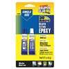 Super Glue 15356-12 Epoxy Adhesive, Delayed Set, (2)-3gTubes