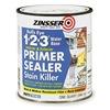 Zinsser 2004 Stain Blocking Primer/Sealer, White, 1 qt.