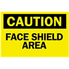 Brady 41151 Caution Sign, 10 x 14In, BK/YEL, ENG, Text