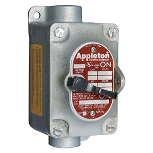 APPLETON ELECTRIC Tumbler Switch, 3-Way, 1 Gang, 30A, 3/4In, FT at Sears.com