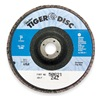 Weiler 50621 Arbor Mount Flap Disc, 7in, 24, ExtraCoarse