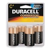 Duracell MN1400R4ZX Battery, Alkaline, PK 4