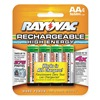 Rayovac LD715-40P Rechargeable Battery, 2000mAh, AA, PK 4