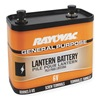Rayovac 918 Lantern Battery, Industrial, 6V, Screw Term