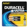 Duracell MX2500B2U Battery, Alkaline, AAAA, PK 2