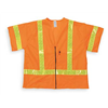 Jackson Safety 2214198 High Visibility Vest, Class 3, L, Orange