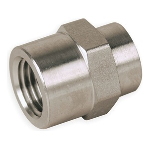Parker Female Hex Coupling, 316SS, 3/4 x 1/2 In at Sears.com