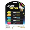 Expo 1752226 Dry Erase Marker, Bullet, 5 Colors