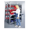 Schaefer GRM71222G Boltless Shelving, Straight, 48x24, 4 Shelf