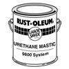 Rust-Oleum 9815419 9800 Urethane Mastic, Alumi-NON, 1 gal.