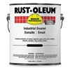 Rust-Oleum 412402 7400 Alkyd Enamel, Flat Black, 1 gal.