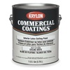 Krylon K21121888-16 VinylAcrylLatexWhite, Flat, 1gal