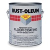 Rust-Oleum 6082408 Floor Coating, 1 gal, Silver Gray