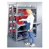Schaefer GRM71222S Boltless Shelving, Sgl Tilt, 48x24, 4 Shelf