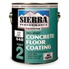 Rust-Oleum 208070 Floor Coating, 1gal, Black, Epoxy, Hi- Gloss