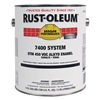Rust-Oleum 7290402 7400 Alkyd Enamel, Semi-Gloss White, 1 gal